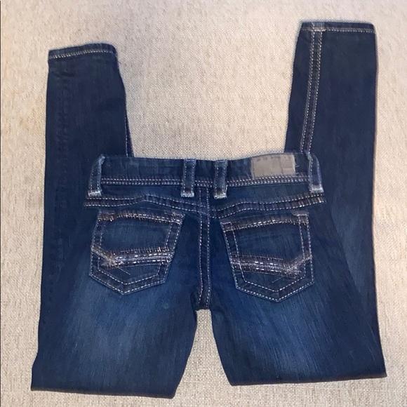 BKE Stella skinny jeans thick stitch 25 - A